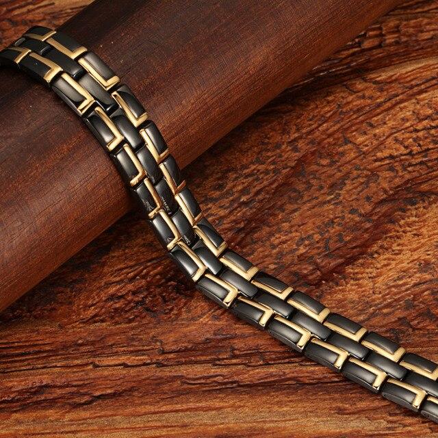 Купить welmag высококачественный магнитный браслет для здоровья мужские