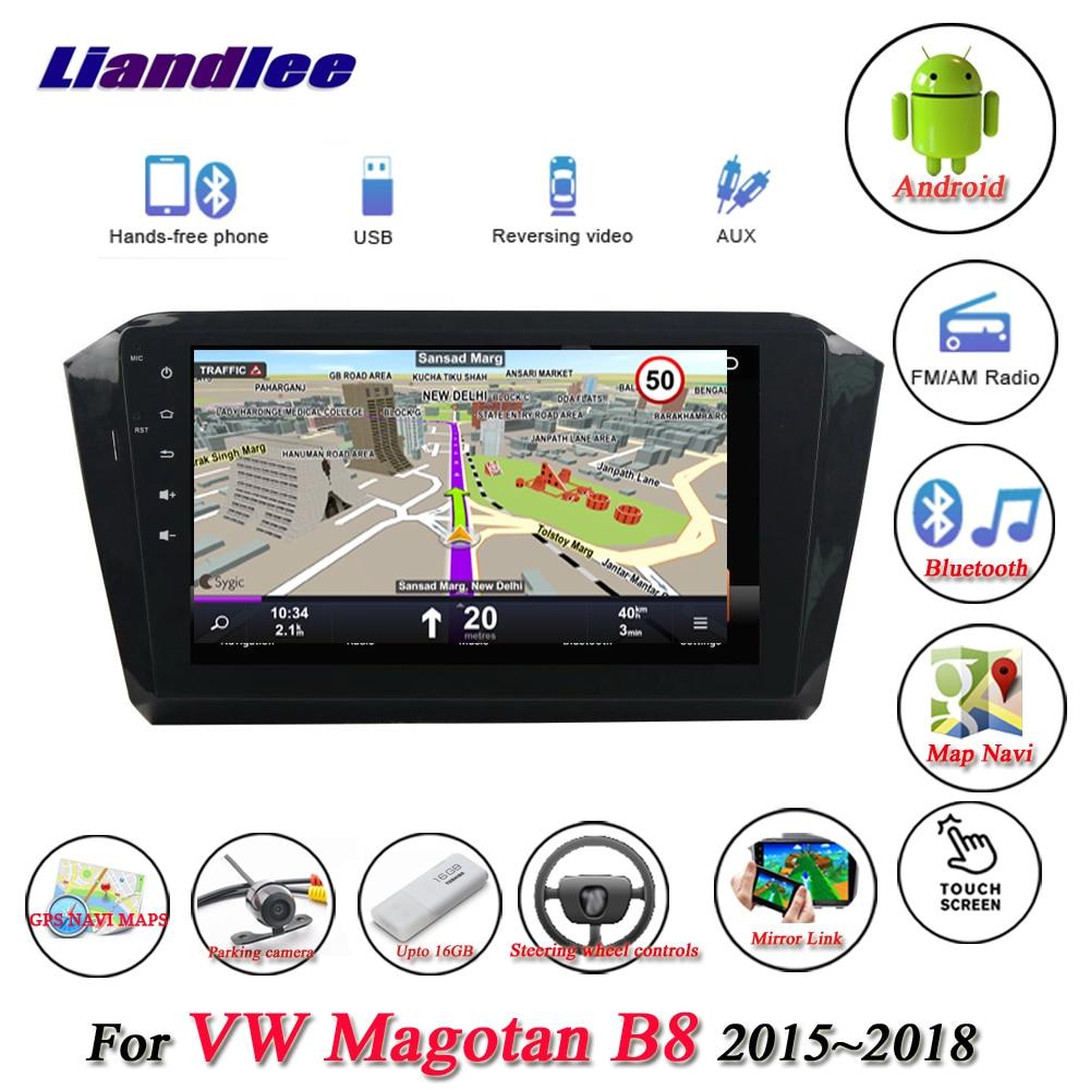 Liandlee Car Android System For Volkswagen VW Magotan 2015~2018 Radio USB TV GPS Wifi Nav Navi Navigation HD Stereo Multimedia