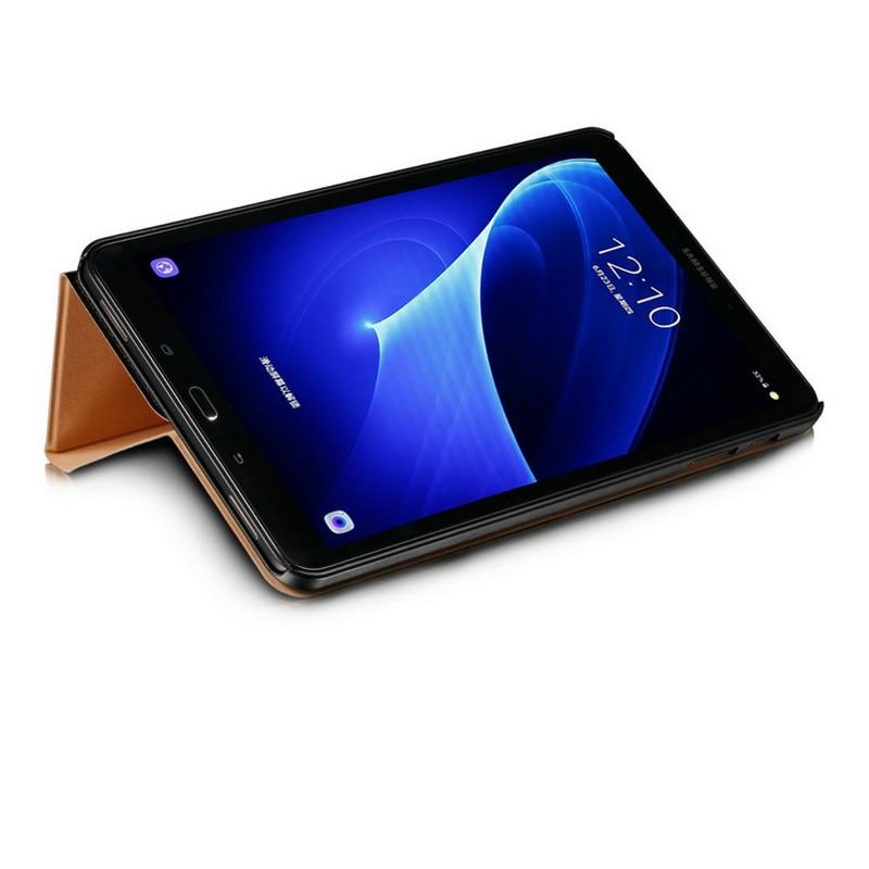 Premium-Fall für Samsung Tab A6 10,1 2016 Abdeckung, Pu-leder Tablet Fall für Samsung Galaxy Tab Ein (2016) T585 T580N 10,1