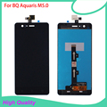 5pc/lot High Quality LCD Display For BQ Aquaris M5.0 5Inch Touch Screen Digitizer Assembly 100%Tested Mobile Phone LCDs