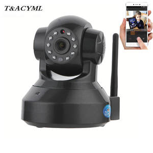Ip-Security-Camera Robot WIFI Surveillance Video 360-Ir-Cut-Vision Audio Motion-Detection