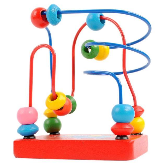 Hölzernen Elefanten Draht Labyrinth Um Perlen Math Spielzeug Kinder ...