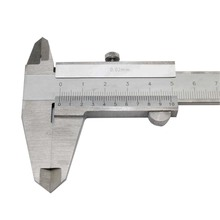1pcs Caliper 150mm silver vernier caliper 0.02 mm metric watch measurement tool silver dial caliper shockproof