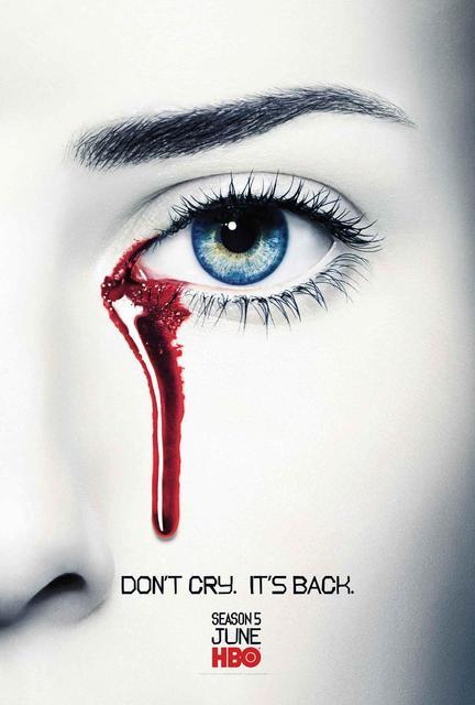 P0433 True Blood No Lloran Sangre Ojos Posters Para Chicos