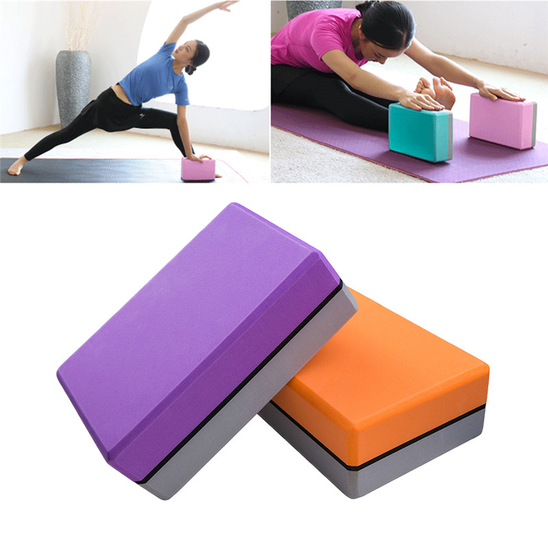 498e31a971 Detail Feedback Questions about 1pc Multi color Thickened EVA Yoga Brick  for Stability Balance Support Non slip waterproof Soft Yoga Brick for Yoga  Fitness ...