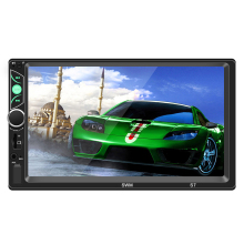 Swm s7 7 polegada mp4 mp5 in-dash carro reprodutor de vídeo mp5 bluetooth carro multimídia som 1024x600 player fm rádio 87.5 m-108 mhz mgo3