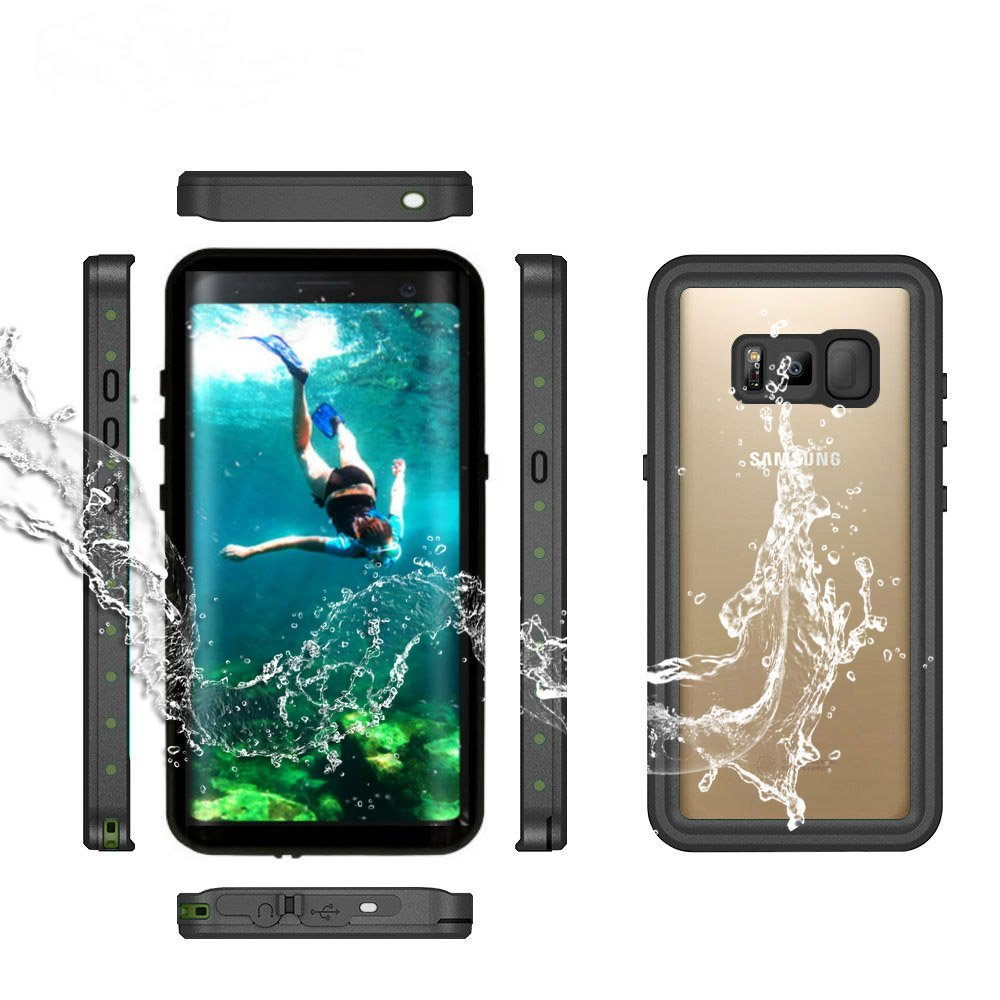 For Galaxy S8 Waterproof case life water Shock Dirt Snow Proof Protection for Samsung Galaxy S9