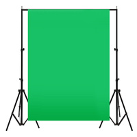 3mx3m 10X10ft Muslin Green Background Cloth Screen Backdrop Bright Color Photo Photography Studio Backgrounds