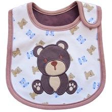 Neonatal babador Baby bibs fashion scarf waterproof cotton Newborn Accessories bibs