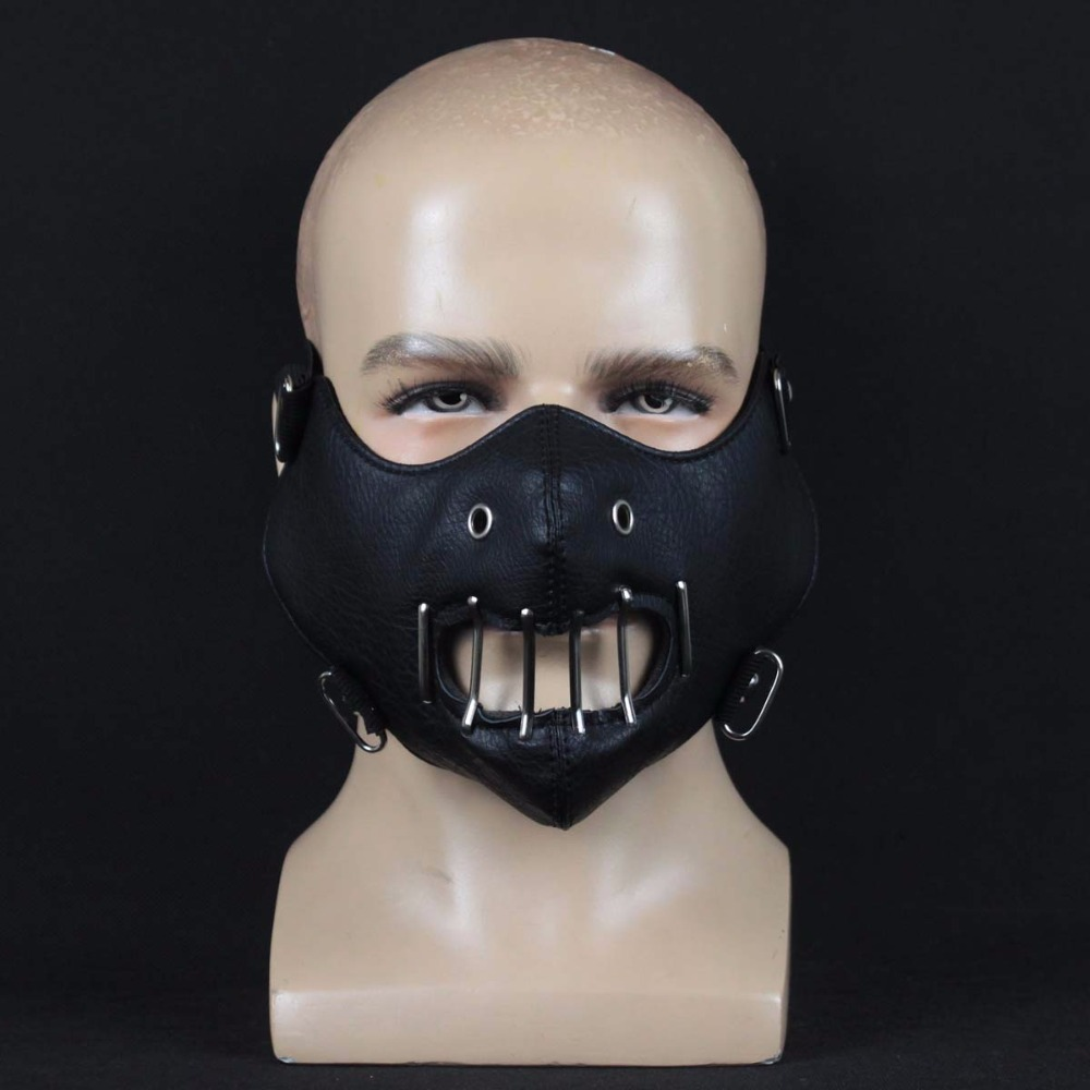 Halloween Silence of the Lambs Hannibal Lecter Mask party Costume Props