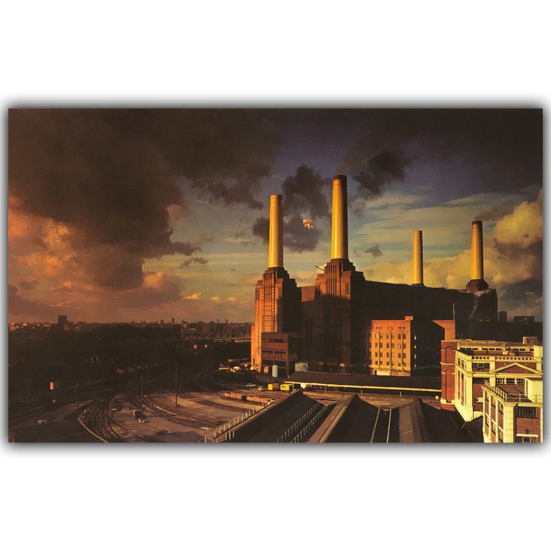 Pink Floyd Classic Rock Music Band Art Wall Images For Living Bedroom Decor Silk Print Poster YL350 ...