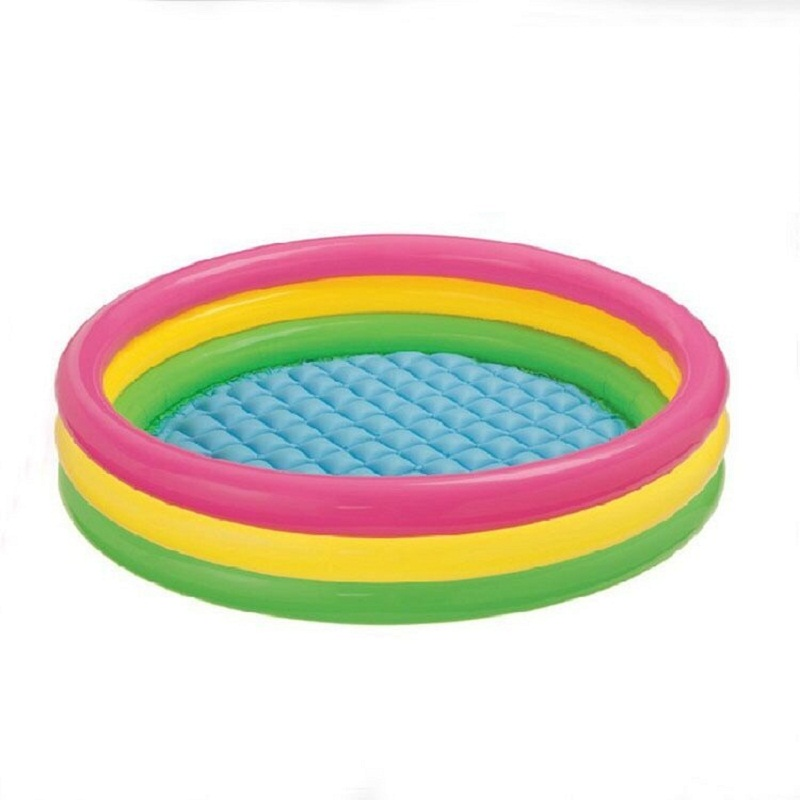 Fluorescent Trinuclear Inflatable Baby Swimming Pool