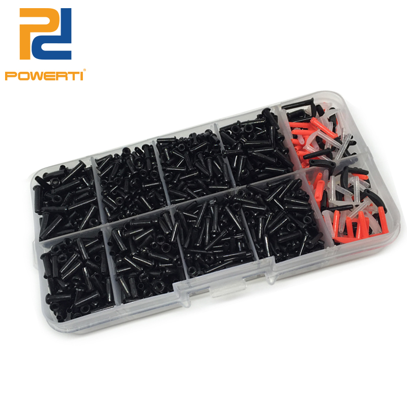 POWERTI 2set/lot Badminton Grommets Eyelets Grommets Bucket Stringing Tools And Accessory For Sport Badminton Racket Men