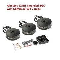 Iflight Ipower AlexMos 32 BIT Extended BGC with Gbm8036 90t Brushless gimbal Motor Combo set Support SLR Brushless Stabilizer
