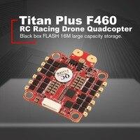 HGLRC Титан плюс F460 стека AIRBUS F4 полета Controller FC OSD и Dinoshot1200 60A Blheli_32 ESC для беспилотный гоночный Квадрокоптер на дистанционном управлении