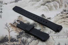 Rubber Black Watch Bracelet for Casio EF552 with Quality New Sports Waterproof Black Metal black CLASP