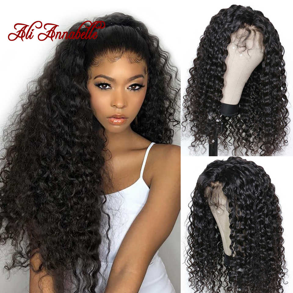 150% Плотность полные парики шнурка человеческих волос глубокая волна человеческих волос парики с детскими волосами с пучком волос парики со шнуровкой по всей окружности без клея парики из натуральных волос
