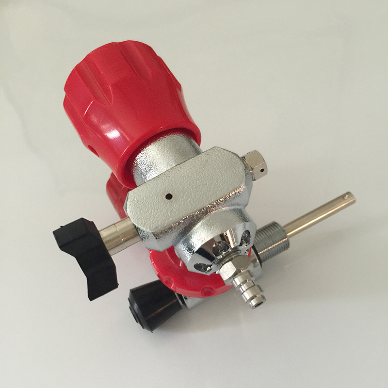 Air Compressor Refile Tank Red Safety Valve with Filling Station with Hose 13mm male thread pressure relief valve for air compressor