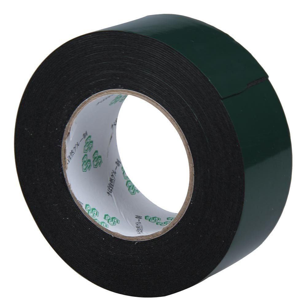 New Style Multifunction Black Sponge Foam Double Sided Adhesive Tape (50mm*10m) 25mm x 1mm double sided self adhesive shockproof sponge foam tape 10m length