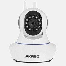 AKASO беспроводная ip-камера 720 P wi-fi видеонаблюдения главная безопасность камеры наблюдения onvif baby monitor wi-fi сигнализация