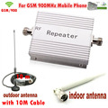 Venda quente 900 MHZ GSM Repetidor para Amplificador de Sinal, celular GSM 900 MHZ Amplificador Booster, GSM Impulsionador Repetidor de Sinal Amplificador