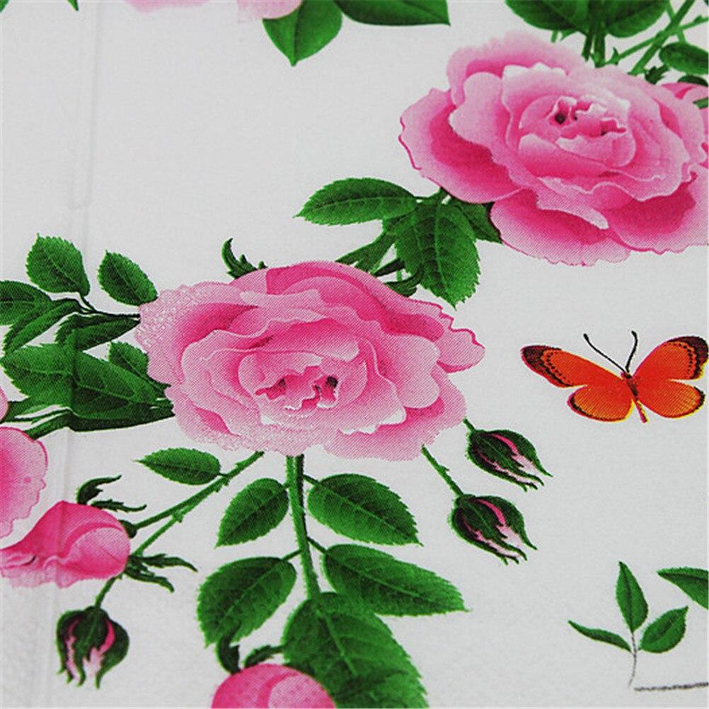 20pcspacklot Floral Paper Napkins Flower Festive Party Tissue