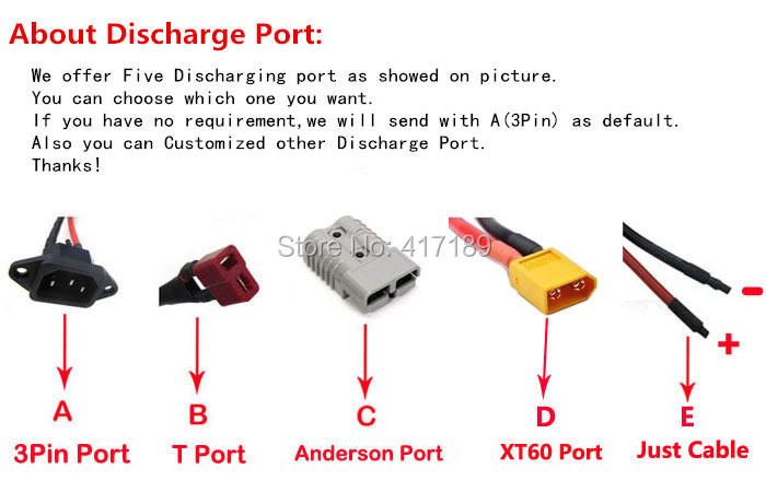 Discharge port choose