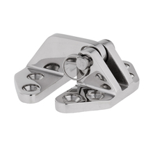 Heavy Duty Marine Grade 316 Stainless Steel Boat Hatch Locker Hinge with Removable Pin 6.9 x 6.5 x 3 cm