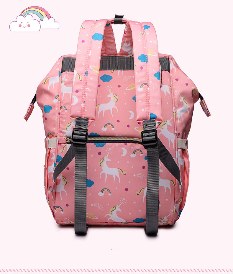 HTB1gelwrsIrBKNjSZK9q6ygoVXaX Lequeen Fashion Mummy Maternity Nappy Bag Large Capacity Nappy Bag Travel Backpack Nursing Bag for Baby Care Women's Fashion Bag