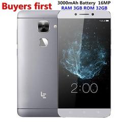 Letv LeEco Le S3 X526/X522 4G LTE Mobile Phone 3GB RAM 32GB/64GB ROM Snapdragon 652 Octa-core 5.5
