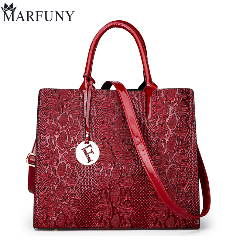 MARFUNY Brand Women Handbag Female Totes Luxury Sequined Shoulder Bags Women Pu Leather Tote Bag 2018 Fashion Bags Lady Sac 2018 new fashion women messenger handbag high quality leather totes hangbags women famous brand shoulder bag female luxury bags