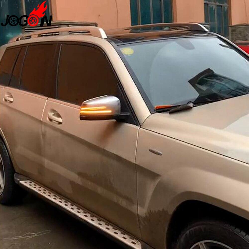 Smoked For Benz A B C E S CLA GLA CLS Class W176 W246 W204 W212 C117 X156 Side Mirror Indicator Dynamic Turn Signal LED Light