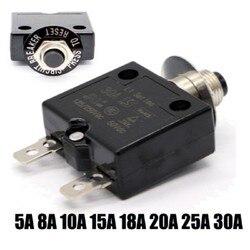 5-30 А Термовыключатель с ручным сбросом 50 В постоянного тока, 250 В переменного тока