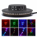New 48 LEDs 8W RGB Sunflower LED Stage Lighting Hanging Wall Lamp Corridor Ambient Lights Bar Disco Micro Rotating LS-RGB48
