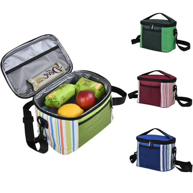 Folding Fresh Keeping Cooler Bag Lunch Bag For Steak Insulation Thermal Bag Insulation Ice Pack Milk Storage Picnic Bag