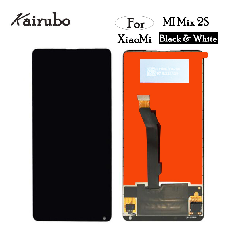 Digitizer Mi-Mix Xiaomi Replacement Lcd-Display Touch-Screen For 2S Glass-Panel Glass-Panel