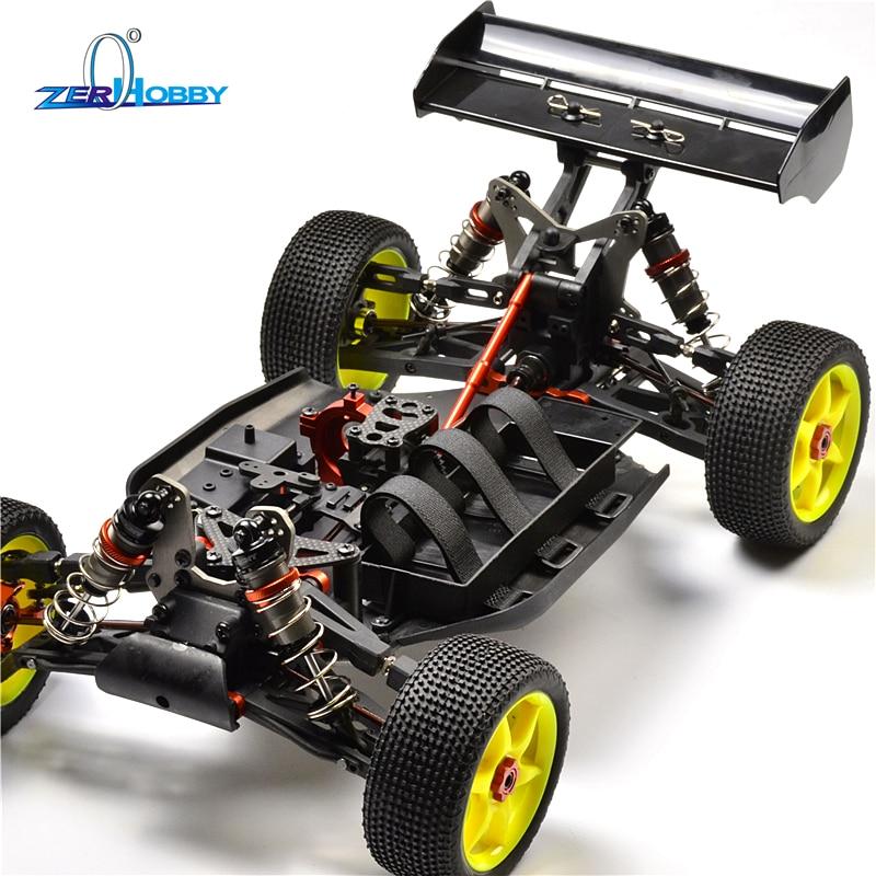 HSP RACING RC VOITURE 94081GTE9 VOITURE KIT jouets voiture RC HSP PROFESSIONNEL BAZOOKA 1/8 4X4 buggy tout-terrain NITRO ET voiture électrique KIT SEULEMENT
