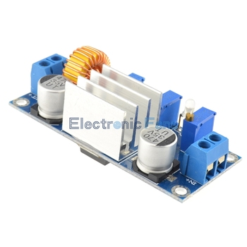 Automatic Protection! 5A Max DC-DC XL4005 Step Down Buck Power Supply Module Adjustable CC/CV Lithium Charge Board for Arduino 4
