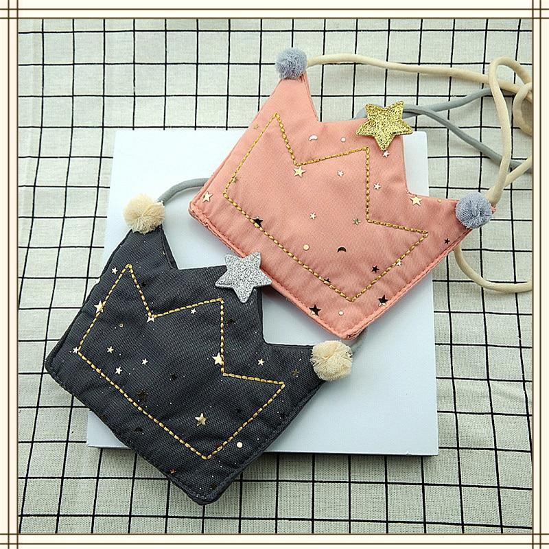 LKEEP Girls Coin Purse Bag Wallet Kids Crown One Shoulder Bag Small Coin Purse Change Wallet Kids Bag Wallet