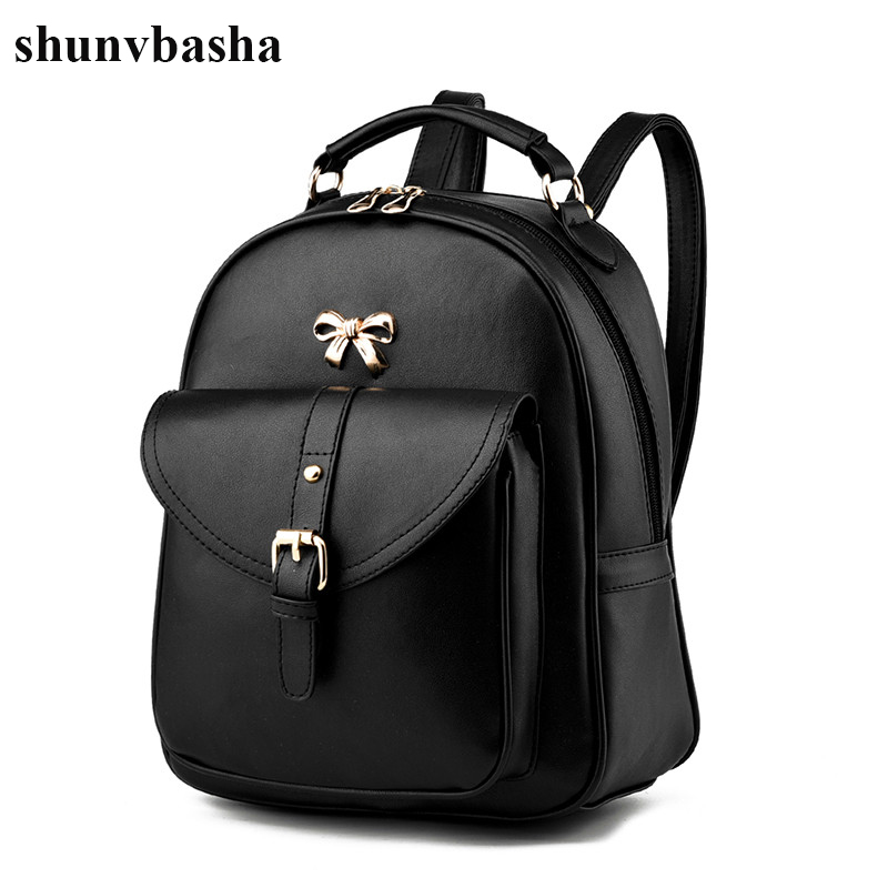 2017 New Arrival Brand Women Backpacks Leather High Quality Fashion School Bags For Teenage Girls Student Design Mochila Ladies new brand designer women fashion backpacks simple koran style school for teenager girls ladies shoulder bags black