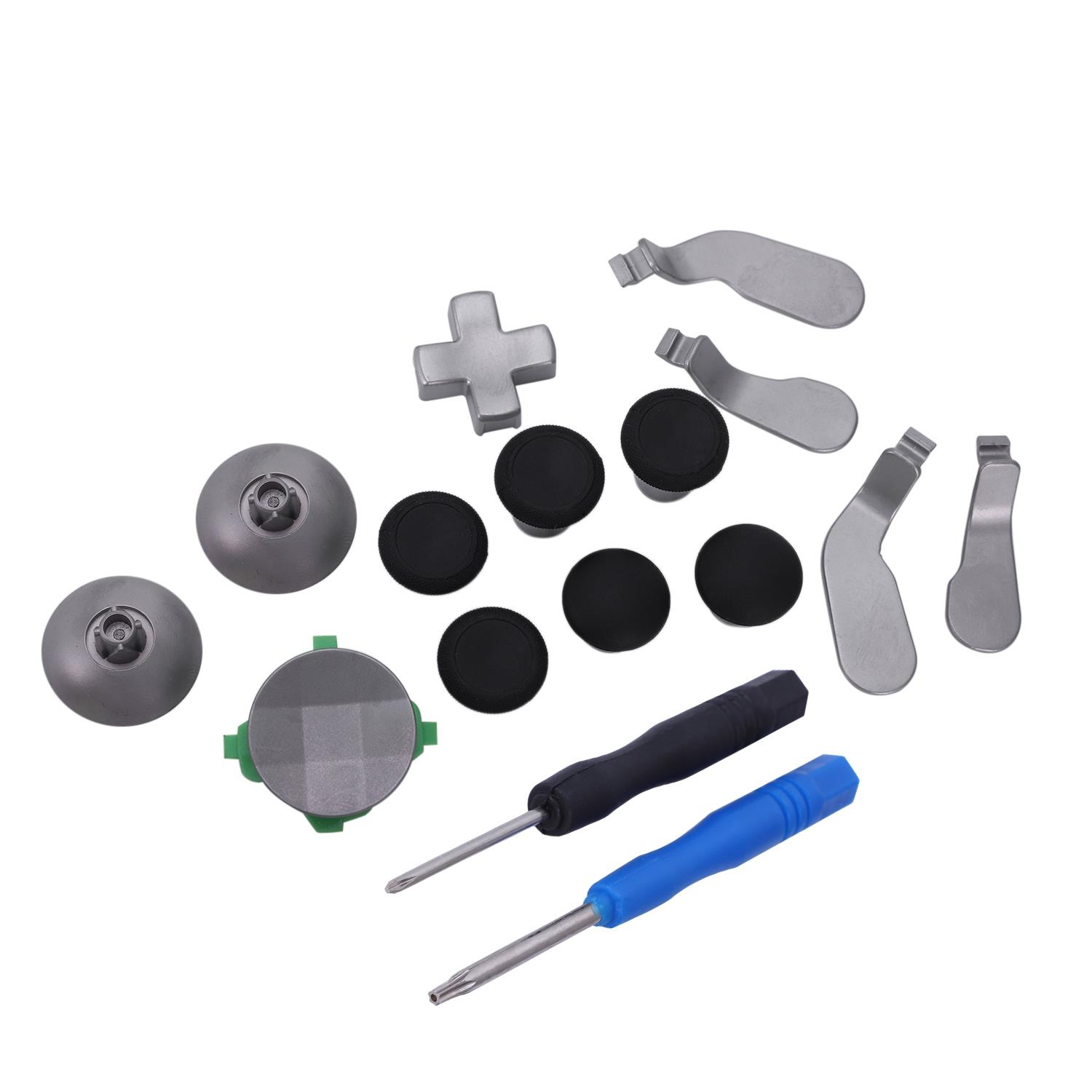 16-in-1 Replacement Parts with Controller Parts Compatible Accessories Swap Thumbsticks + 4 Paddles + 2 D-Pads Elite Controlle16-in-1 Replacement Parts with Controller Parts Compatible Accessories Swap Thumbsticks + 4 Paddles + 2 D-Pads Elite Controlle