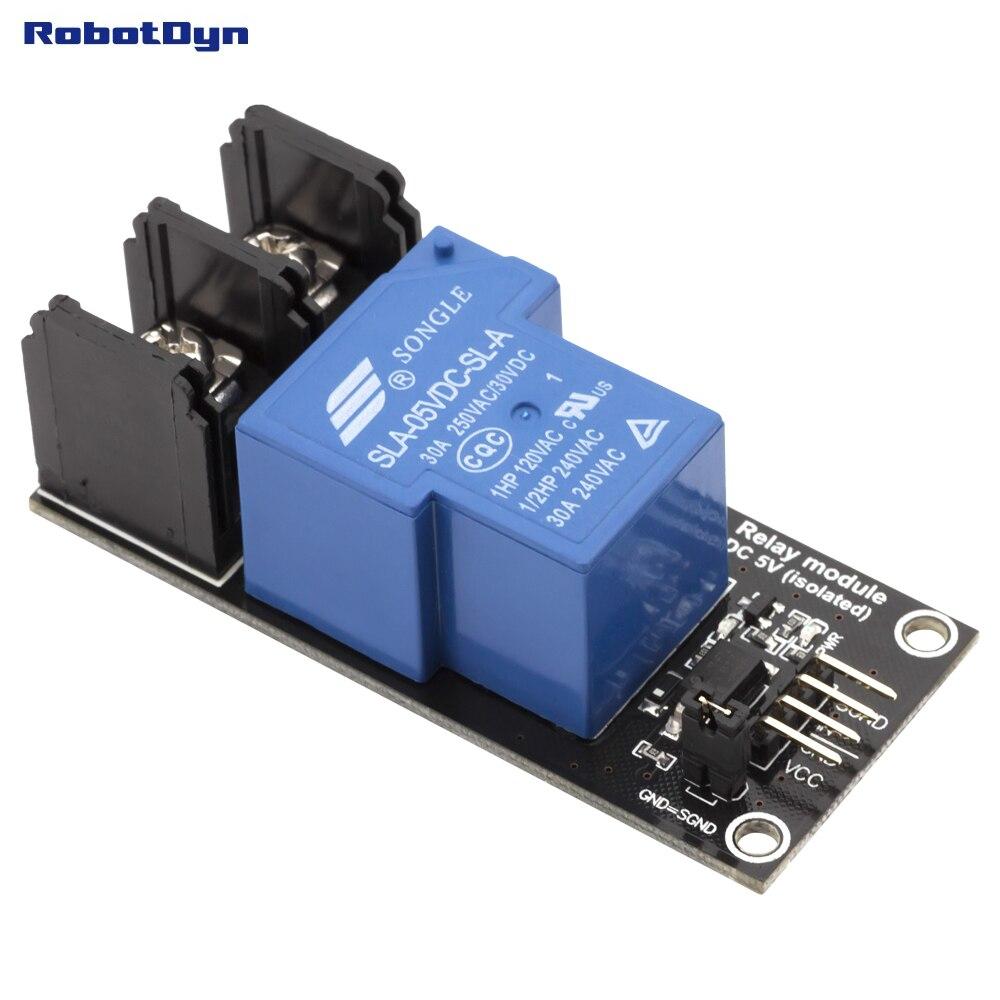 Relay Module 1 relay operation 5V VC 30A 250VAC30VDCin EL