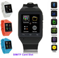Bluetooth Smart Watch с Камерой Разблокирована СИМ Телефон Часы Синхронизация Вызовов Music Напоминание Анти-потерянный телефон mate для Android IOS