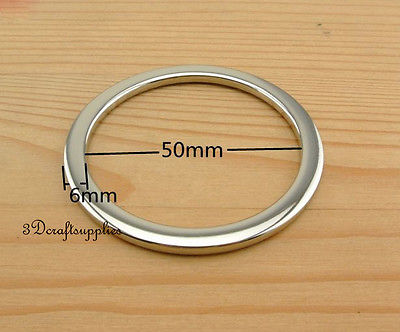 metal O rings O ring purse ring connector nickel alloying 50 mm 2 ...