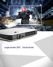 High Quality Mini DLP Digital Home Movie Projector, android system support install app you like
