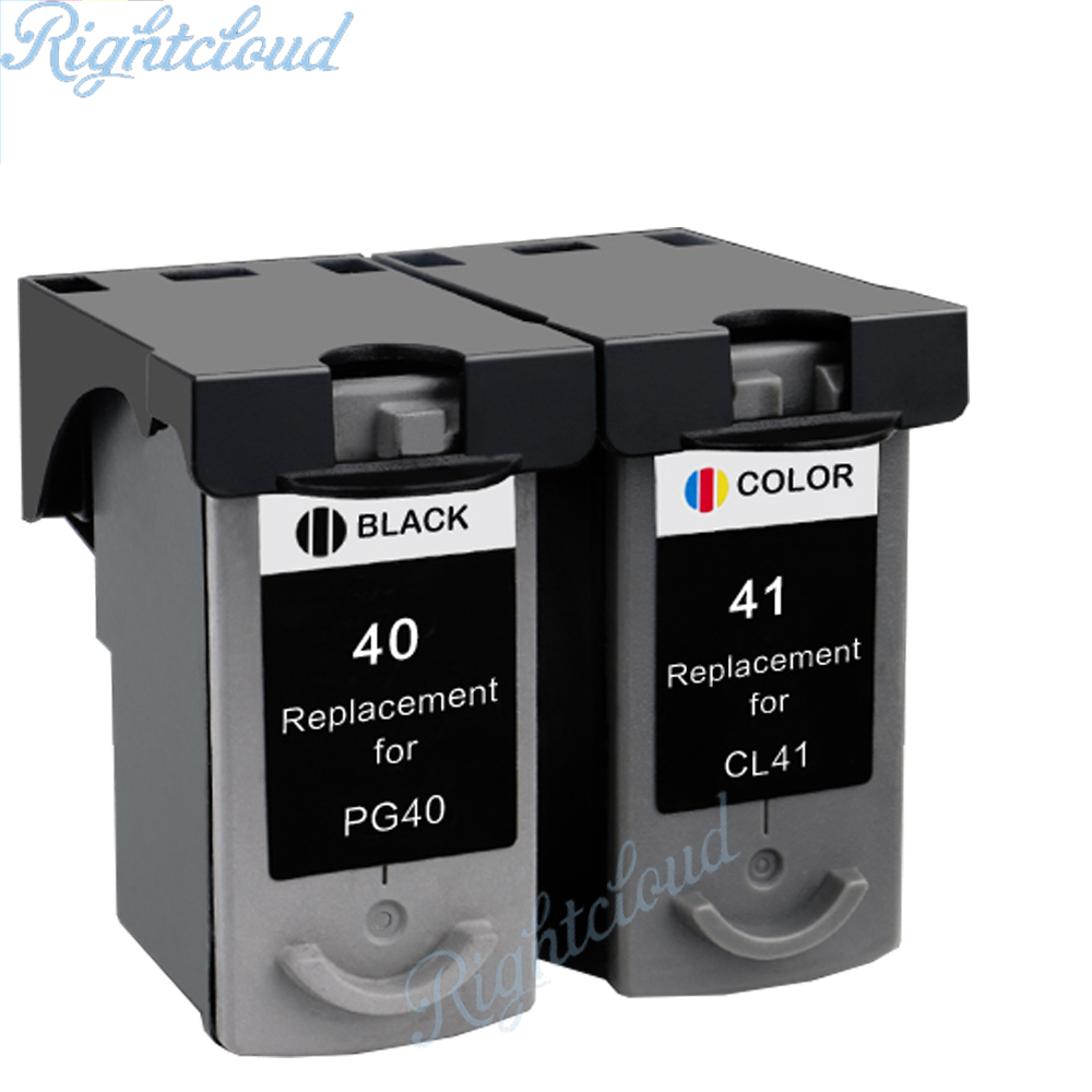 Hot PG40 CL41 Compatible Ink Cartridge for Canon PG 40 CL 41 For Canon PIXMA iP1600 iP1200 iP1900 MX300 MX310 MP160 MP140 MP150
