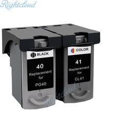 Горячие PG40 CL41 Совместимый картридж для Canon PG 40 CL 41 для Canon PIXMA iP1600 iP1200 iP1900 MX300 MX310 MP160 MP140 MP150