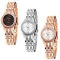 LVPAI relogio feminino Fashion Women's Bracelet Stainless Steel Crystal Analog Quartz Dial Wrist Watch