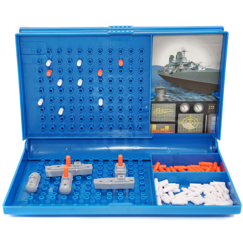 Children's Toy Ship Game Brainstorming Strategy Maritime Combat Assembly Parent-Child Interactive Table Tour Party Game Gift
