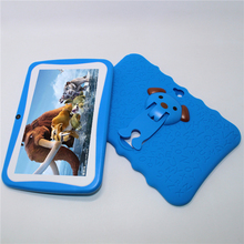 Sale!7 inch Allwinner A33 Kids Tablet 1024*600 Android 4.4 Quad core 512MB/8GB Bluetooth WIFI crash proof